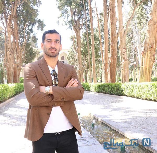 احسان حاج صفی و دخترش با عاشقانه های زیبا