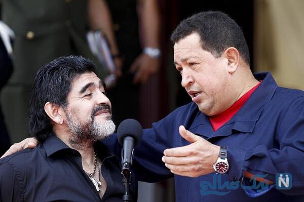 خالکوبی مارادونا