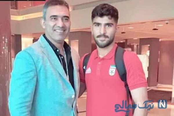 احمدرضا عابدزاده با پسرش