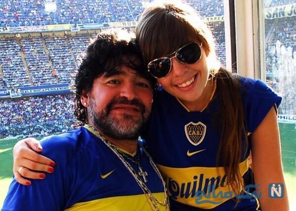 دختران دیگو مارادونا به جرم خیانت از ارث محروم شدند
