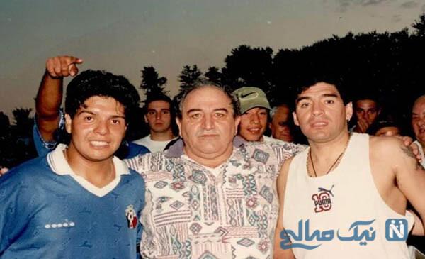 دیگو مارادونا و برادرش