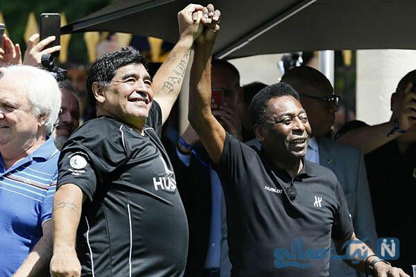 دیگو مارادونا و پله با چالش های جالب از شور دیگو تا سیاست دوناسیمنتو