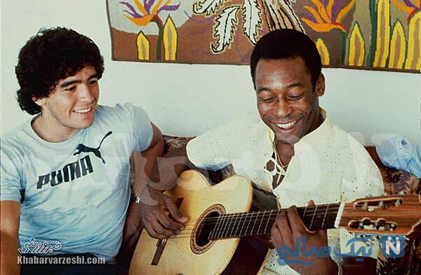 دیگو مارادونا و پله