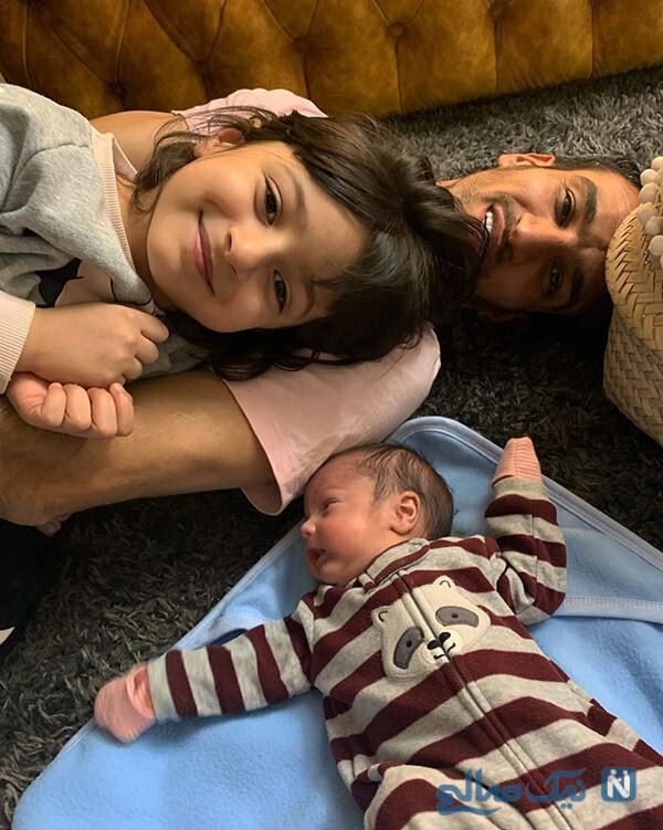حسین ماهینی و فرزندانش