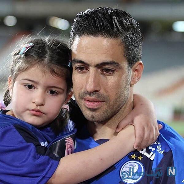 خسرو حیدری و دخترش