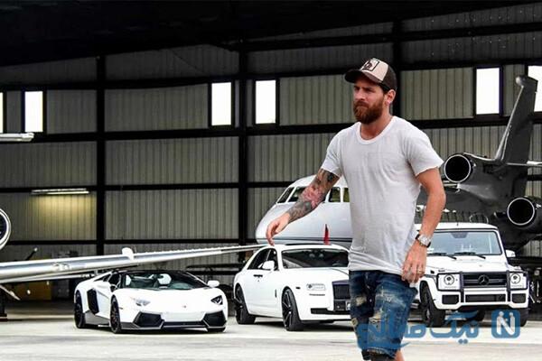 ماشین های لیونل مسی