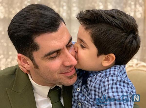 دومین فرزند شهرام محمودی ملی پوش والیبال به دنیا آمد