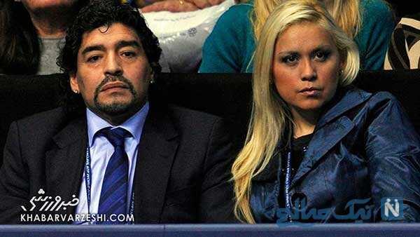 همسران سابق دیگو مارادونا
