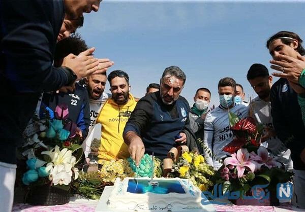 جشن تولد محمود فکری