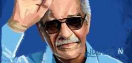 رونمایی از سردیس منصور پورحیدری و آئین پلاک کوبی خیابان به نام وی