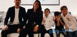 کودکی لیونل مسی و همسرش در آرژانتین را ببینید