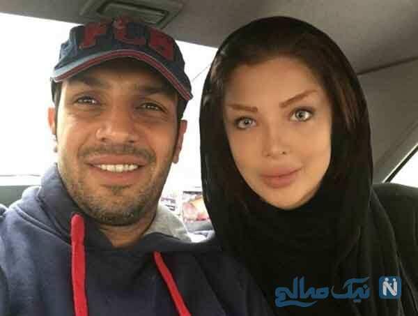 فرزندان سپهر حیدری و همسرش آرام جوینده در یک قاب