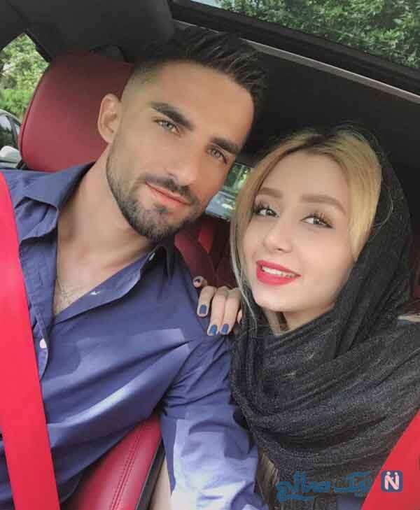 میلاد محمدی با همسرش