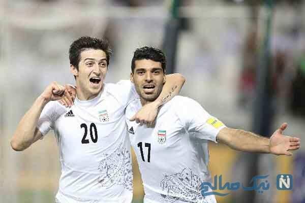 محبوب ترین فوتبالیست ایرانی