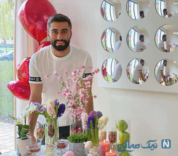 تولد کاوه رضایی و تبریک متفاوت باشگاه شارلروا به مهاجم ایرانی اش