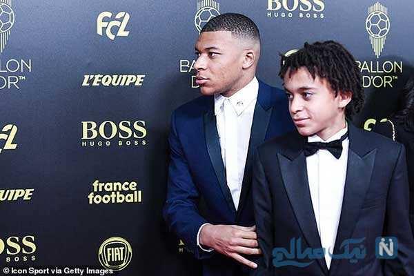 کیلیان امباپه و برادرش