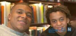 شباهت باورنکردنی ستاره فرانسوی کیلیان امباپه و برادرش ایتان