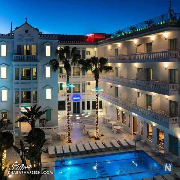 هتل های لیونل مسی