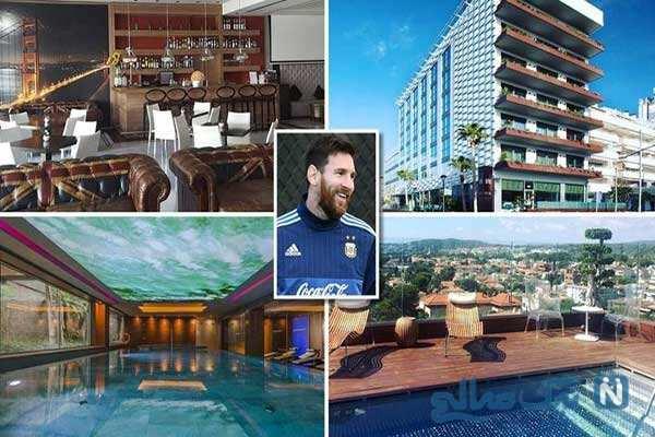 هتل های لیونل مسی از ساحل زیبا تا شنا با موسیقی زیرآب