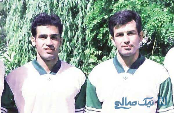 عکس قدیمی علیرضا منصوریان