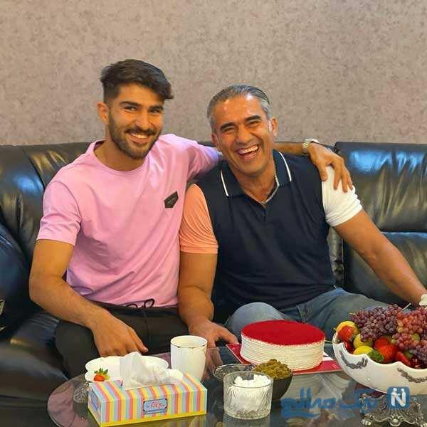 جشن تولد احمدرضا عابدزاده