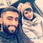 جشن تولد فرنوش شیخی در کنار همسرش کاوه رضایی در بلژیک