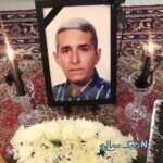 مراسم خاکسپاری پدر محسن مسلمان با حضور چهره های سرشناس