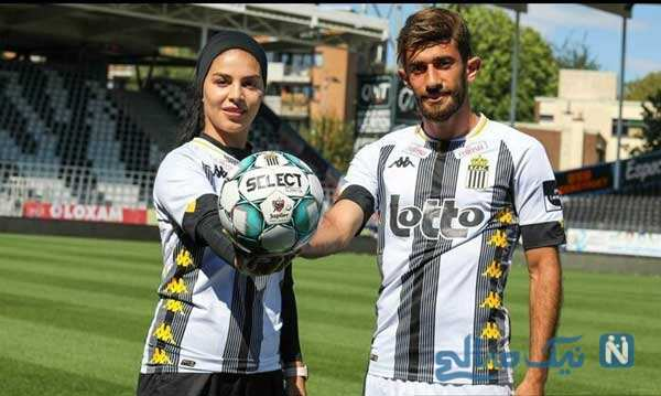 زوج فوتبالی