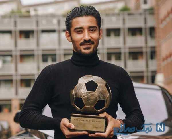 رونمایی از مدل موی رضا قوچاننژاد ستاره سابق تیم ملی