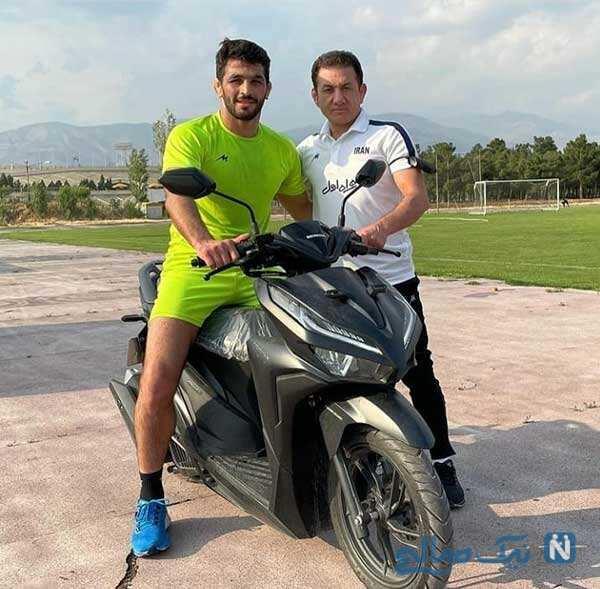 موتورسواری حسن یزدانی