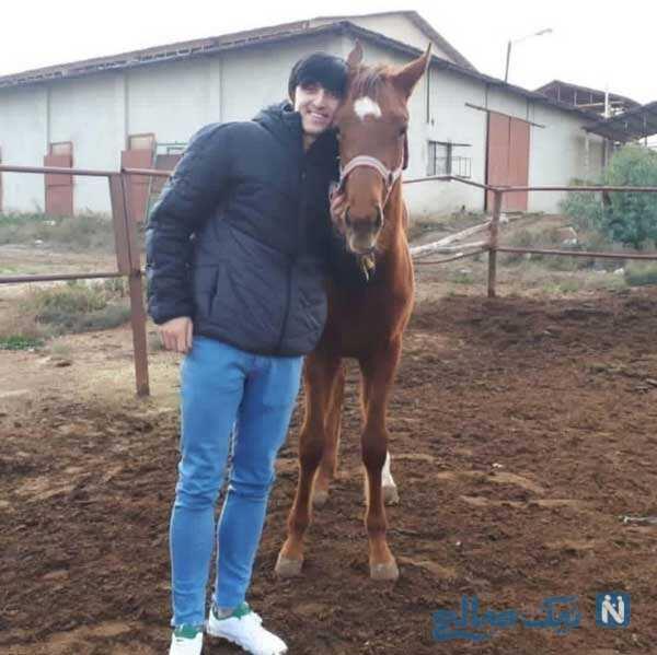 اسب جدید سردار آزمون
