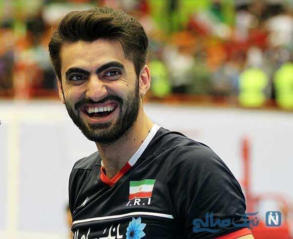 جشن تولد امیر غفور در اردوی تیم ملی والیبال با حضور ملی پوشان