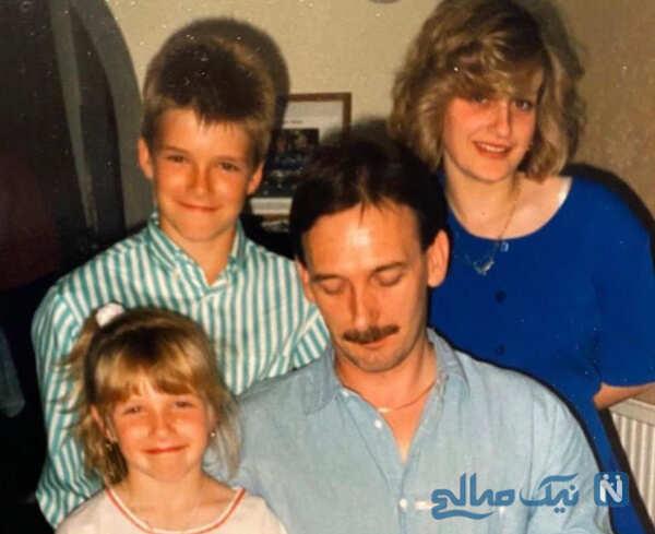 دیوید بکهام و فرزندانش