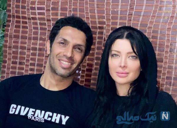 جشن تولد سپهر حیدری در امارات و تشکر ویژه وی از همسرش