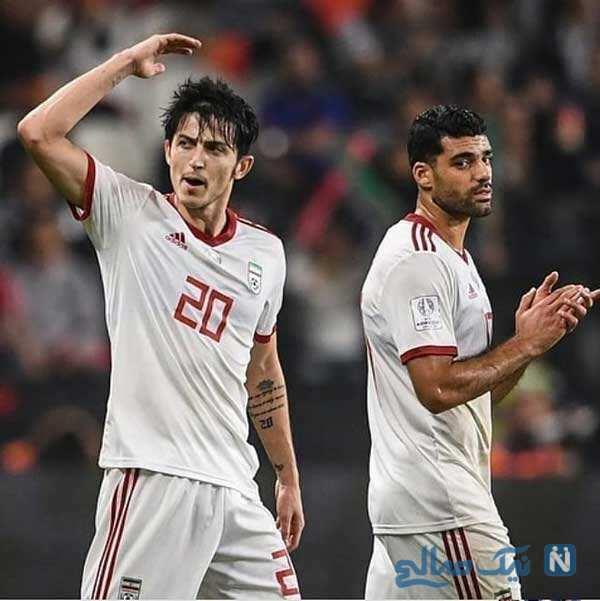 پیروزی تیم ملی فوتبال