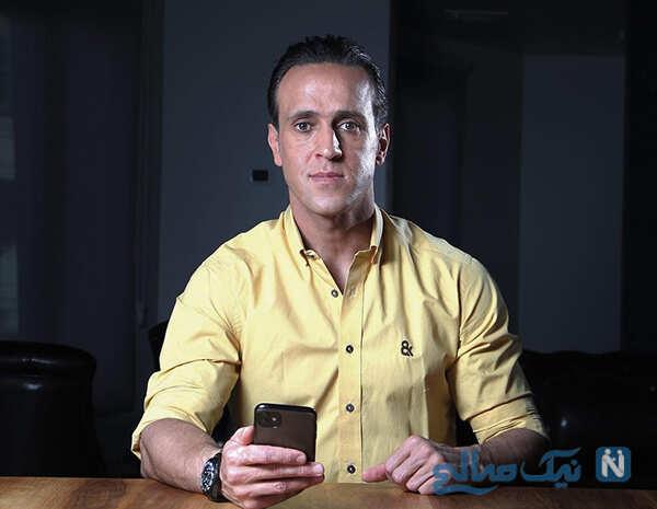 تیپ جدید علی کریمی بعد از جنجال قبض برق به سبک الویس پرسلی
