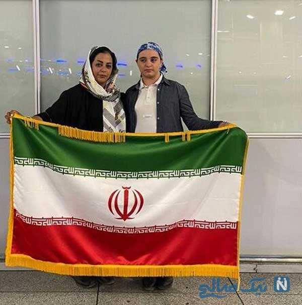 دختر سوارکار ایرانی