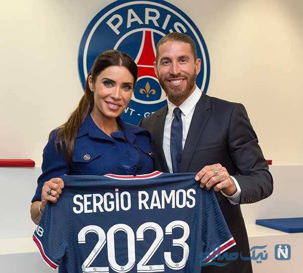 هواپیمای اختصاصی راموس در اختیار پیلار و خانواده از مادرید تا پاریس !
