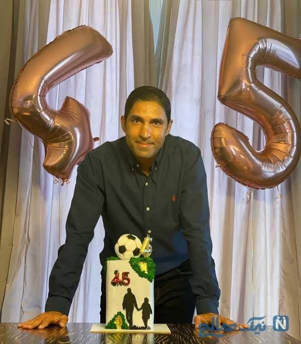 جشن تولد وحید هاشمیان
