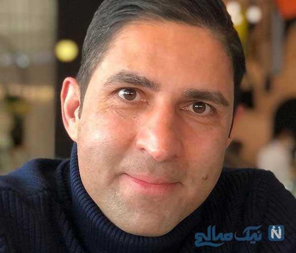 جشن تولد وحید هاشمیان مربی تیم ملی در کنار خانواده و دوستانش