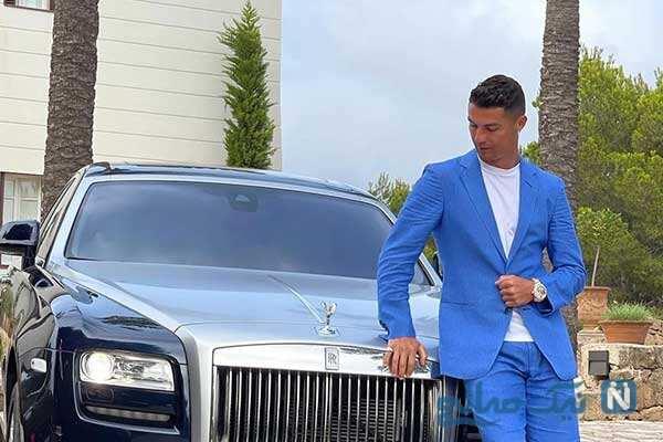 خودرو خاص کریستیانو رونالدو هدیه گرانقیمت نامزدش جورجینا
