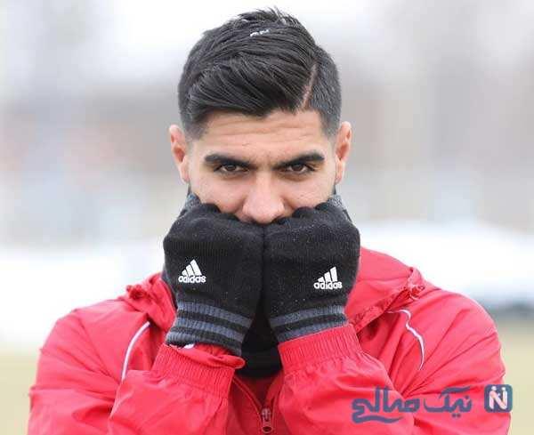 عکس های رضا اسدی فوتبالیست ایرانی از سنت پولتن تا پرسپولیس