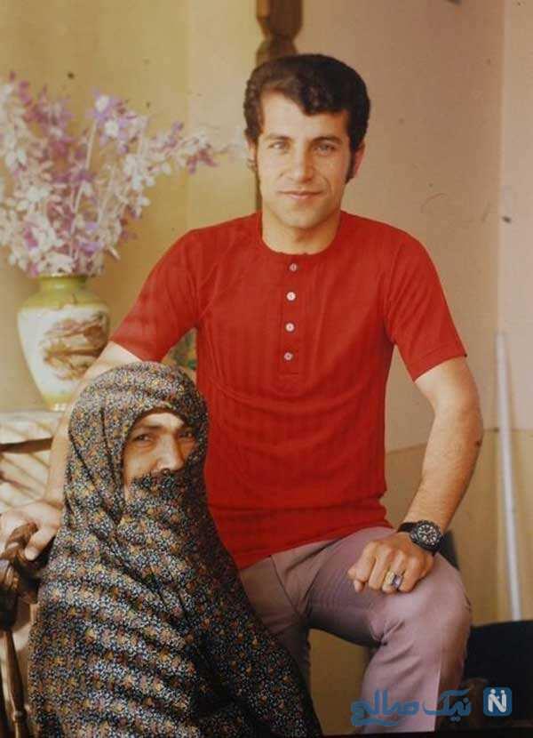 علی پروین و مامان نصرت