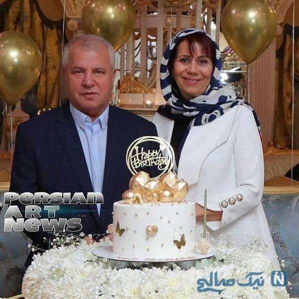 سالگرد ازدواج علی پروین