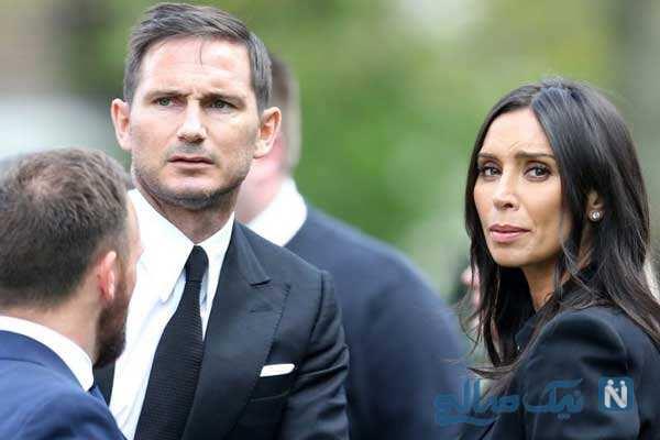فرانک لمپارد و همسرش کریستین زوج مشهور و ثروتمند فوتبالی