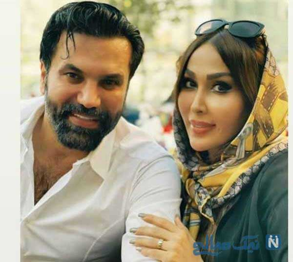 عکس جدید علیرضا نیکبخت با همسرش را ببینید