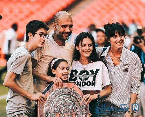 عکس جنجالی دختر پپ گواردیولا و ستاره لیگ برتری تاتنهام