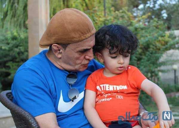 واکنش های دیدنی پسر محمد بنا پس از دیدن پدرش در تلویزیون را ببینید