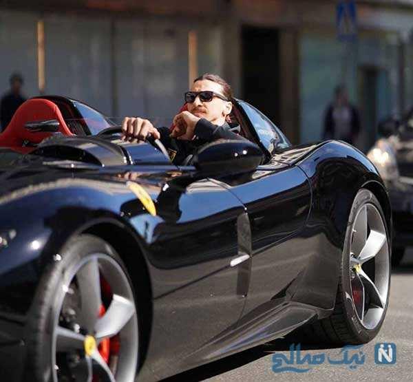 ماشین های زلاتان ابراهیموویچ عاشق سرعت ایتالیایی با ماشین های خاص