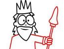 داستان کوتاه پادشاهی با یک چشم و یک پا !